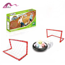 Mode Sport Speelgoed Air Power Voetbal Disk Doel LED Licht Muziek <span class=keywords><strong>Hover</strong></span> <span class=keywords><strong>Bal</strong></span>