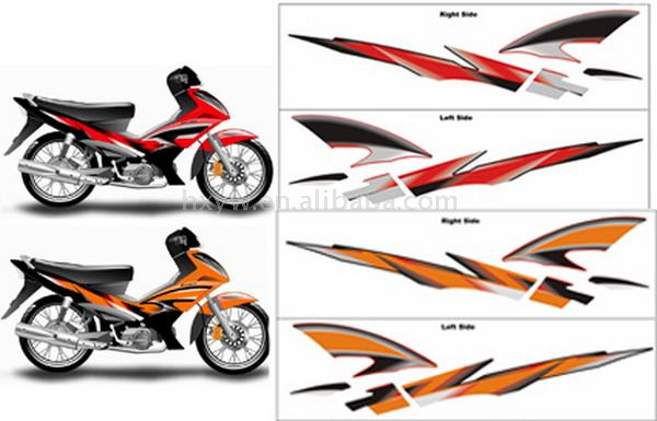 Scooter decal sticker buy scooter stickerdecal product on alibaba com