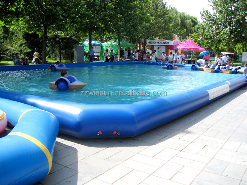 product detail  mm pvc tarpaulin large inflatable pool best sell ball pit