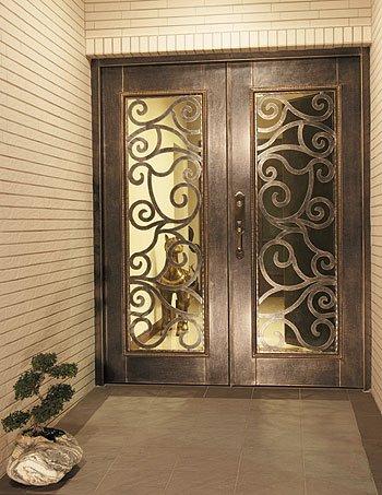Entrada puertas de forja puertas identificaci n del - Puertas forja exterior ...