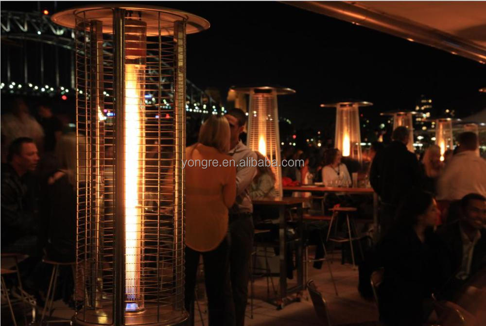 Superior Round Flame Heater With High Quality From Glass Tube Patio Heater Made In  China