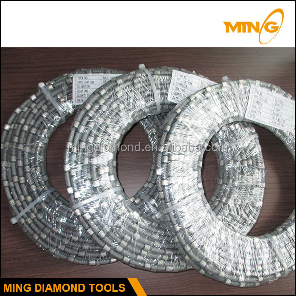 Easy Operation And High Flexibility Diamond Rope Wire Saw For ...