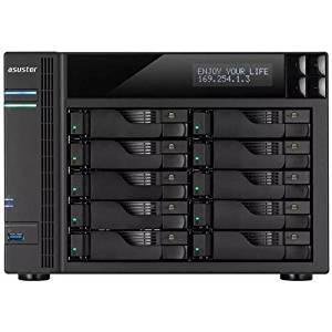 ASUSTOR AS5110T Intel Celeron 2.0GHz/ 2GB DDR3L/ 4GbE/ 2eSATA/ USB3.0/ 10-bay Desktop NAS
