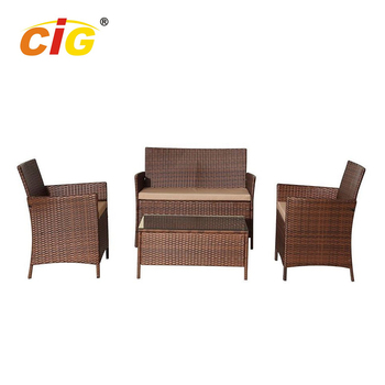 Newest Design Comfortable Second Hand Garden Wilson Patio Furniture Rattan Wicker Restaurant Outdoor