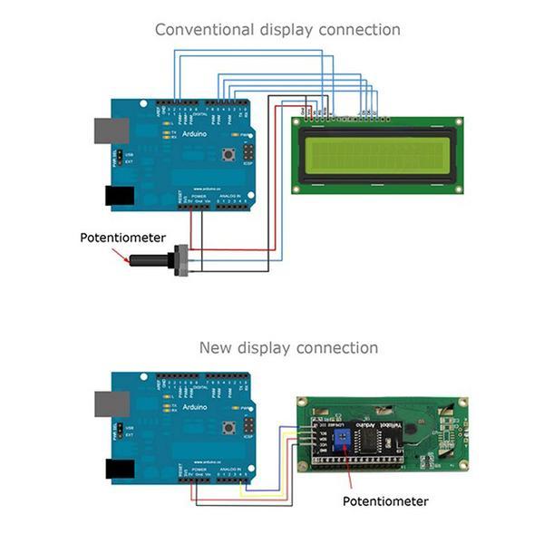 2004 20x4 I2c Lcd Display Module (blue Or Green) - Buy Lcd Display Module  Product on Alibaba com