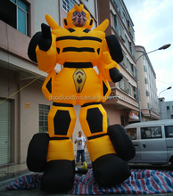 giant inflatable Fortress Maximus for advertising , inflatable Bumblebee