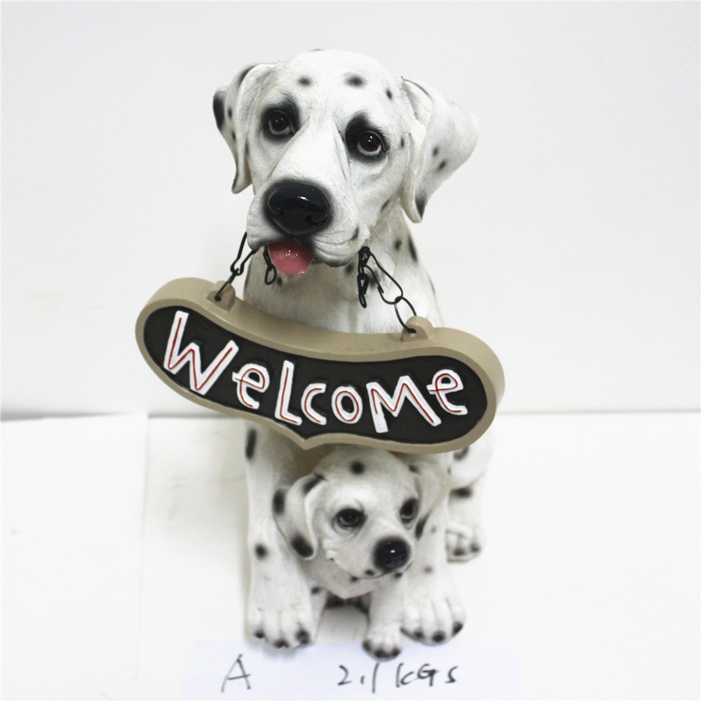 Indoor Outdoor Decorative Dog Statue