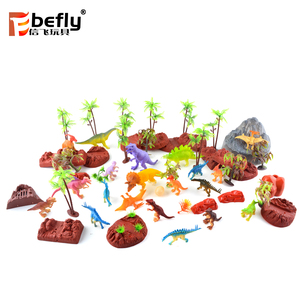 Theme park souvenir gift plastic toy dinosaur model for kids