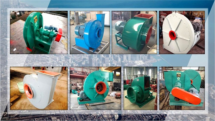 single inlet industrial boiler centrifugal exhaust fan 2500 cfm