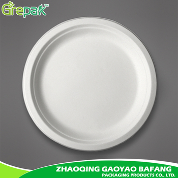 10 inch bagasse biodegradable disposable paper plate  sc 1 st  Alibaba & 10 Inch Bagasse Biodegradable Disposable Paper Plate - Buy ...