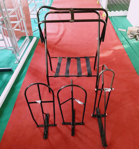 China steel horse saddles for sale