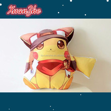 Wholesale Pokemon Pikachu Pokeball Plush Toy Stuffed Pillow