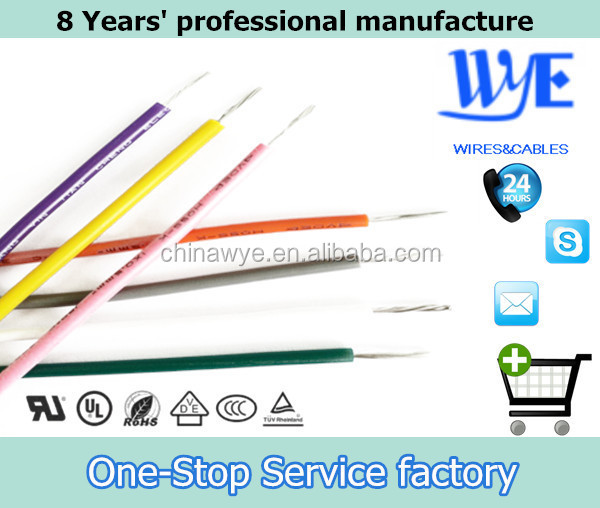 Approved1.5mm2 Silicone Coated Copper Wire 600V Appliance Ratings In All