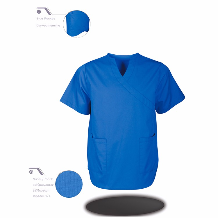 Wholesale Quality-Assured New Design 100% Polyester Scrubs
