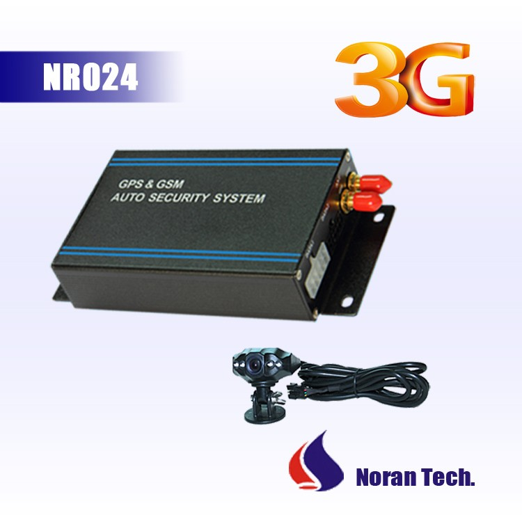 Noran NR024 unique rfid 3g gps gsm tracker monitor fuel/fuel consumption abnormal alarm
