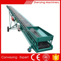 Sand general industrial equipment steeply inclined belt conveyor