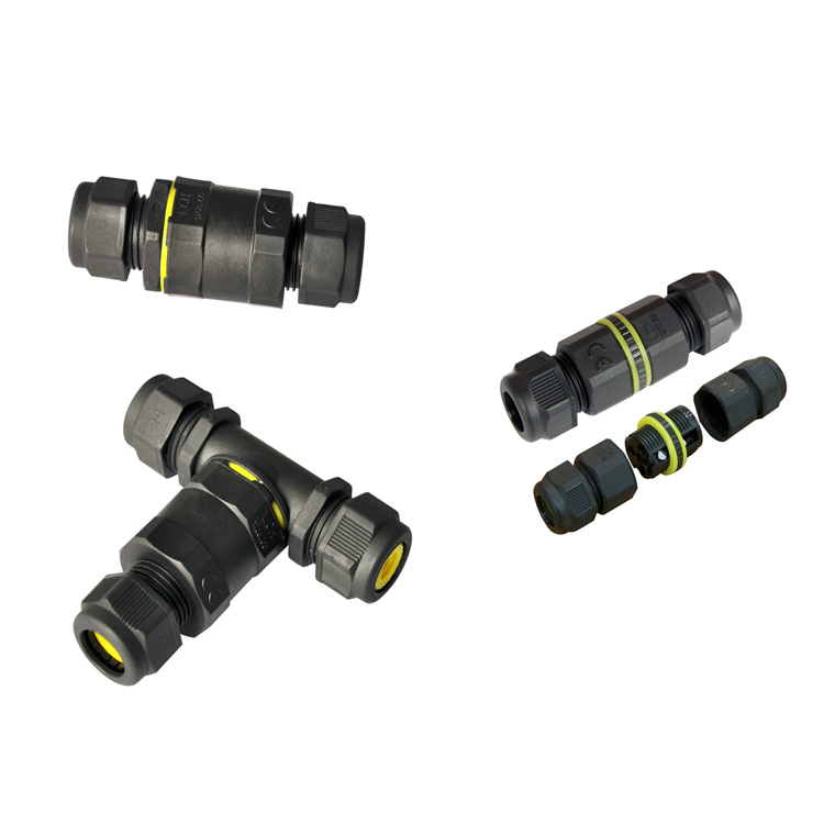 V103105 underwater m8 m12 cable led power waterproof connector ip68 male female plastic electrical wire connectors