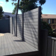 Waterproof home fence panels easy DIY installation WPC wood composite Cheap Garden Fencing