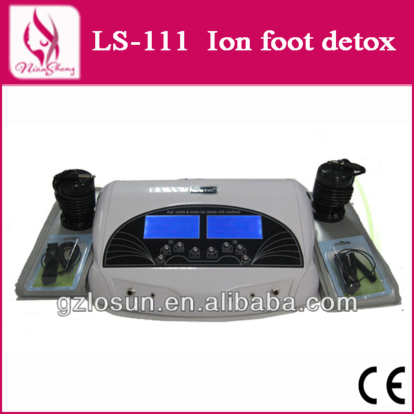 Professional foot bath disposable with Dual System and Screen, ionizer foot detox bath device with Waistband