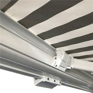 Smarthoume Control Outdoor Aluminum Frame Awning