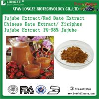 factory supply free sample 5:1-20:1 Fructus Jujubae Date fruit powder Ziziphus Jujube Extract 1%-98% Jujube polysaccharide