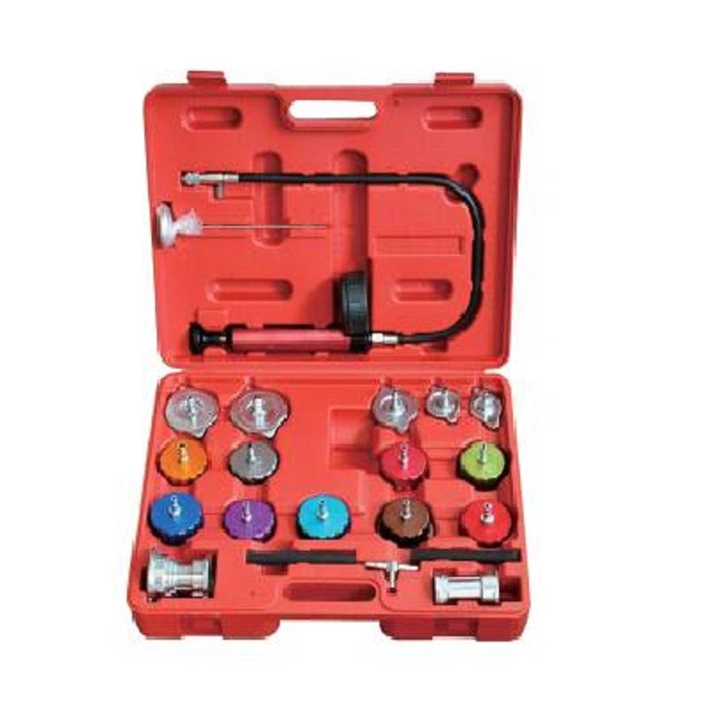 Coolant Leak Detector Replace Professional 18pcs Water Tank Leak Detector Cooling System Radiator Pressure Tester Kit Cooling System Test Set Tool Universal