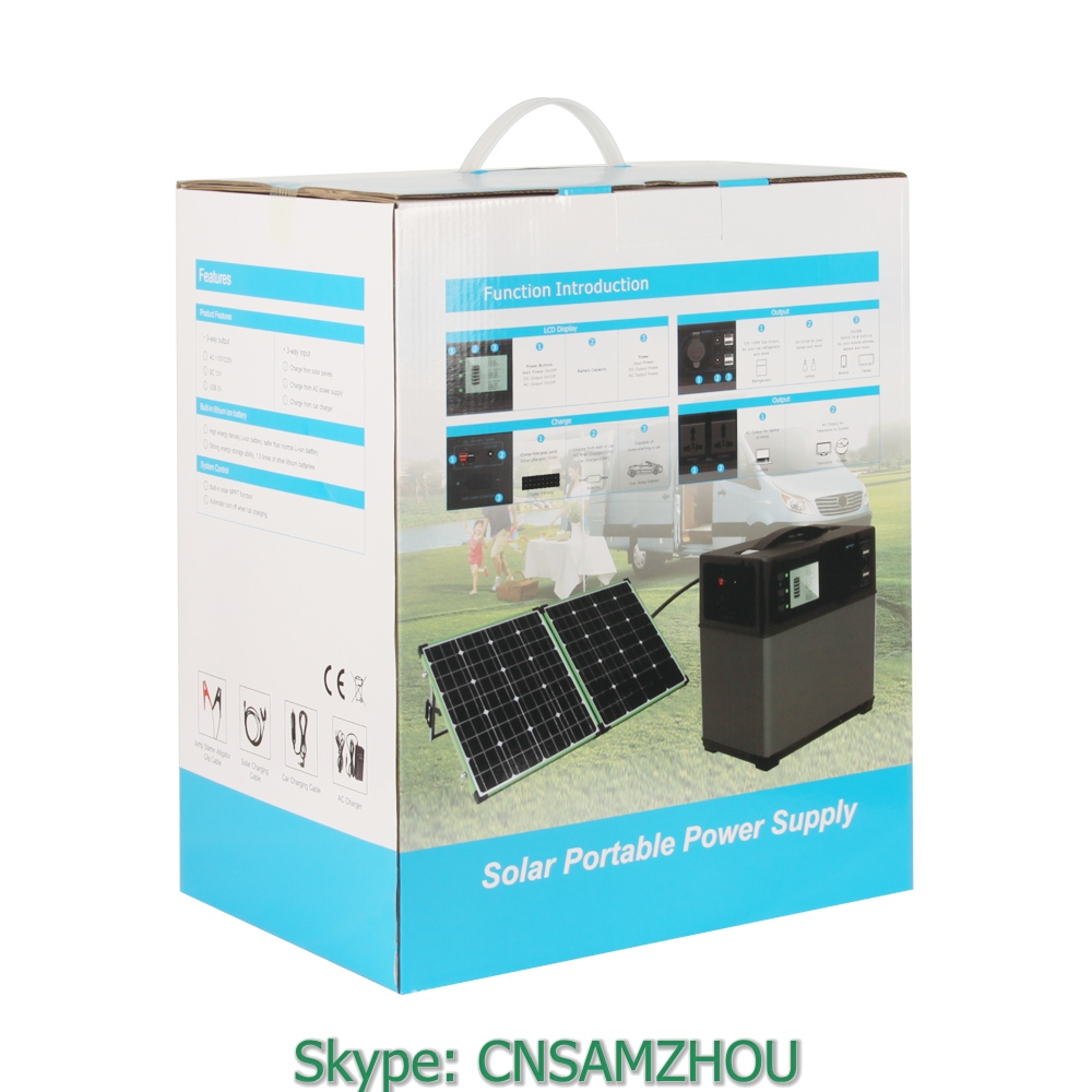 PS5B 400Wh Off Grid solar energy storage system PowerOak with battery management system for clambake