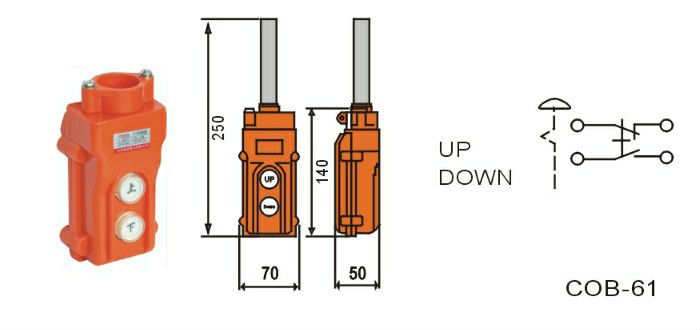 Hoist up down switch wiring illustration of wiring diagram cob 61a up down pushbutton crane hoist switch electric hoist control rh alibaba com up down rocker switch 4 wire up and down cheapraybanclubmaster Gallery
