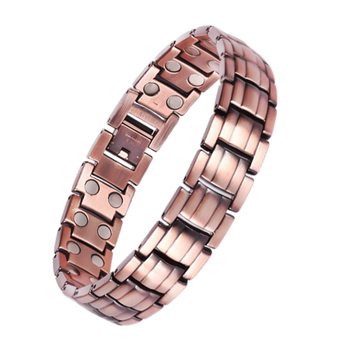 Bio Titanium Magnet Pure Copper Magnetic Therapy Bracelet for Pain Relief Arthritis Carpal Tunnel