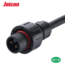 Waterproof LED Flexible Cable DC Power 2 pin 3pin Male To Female IP68 Waterproof LED Connector Cable