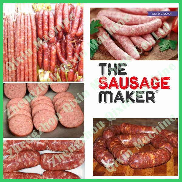 Best factory price german sausage press / pneumatic sausage stuffer