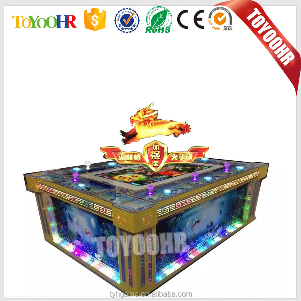 2017 hot sell USA tiger strike fishing game machine ocean king 2 ocean monster fish hunter arcade game
