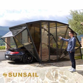 Sunsail box solar energy folding car garage buy sunsail for Garage energy automobiles