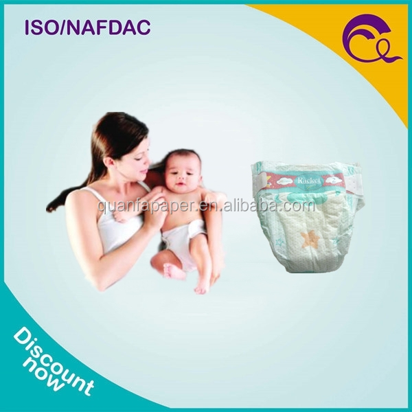 Soft Breathable Absorption and Leak Guard Anti-Leak Disposable Baby Diaper