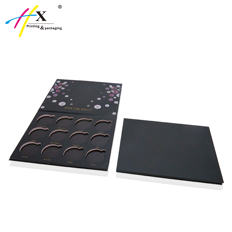 12 Color Eyeshadow Palette Packaging, Customized Empty Eyeshadow Palette Box