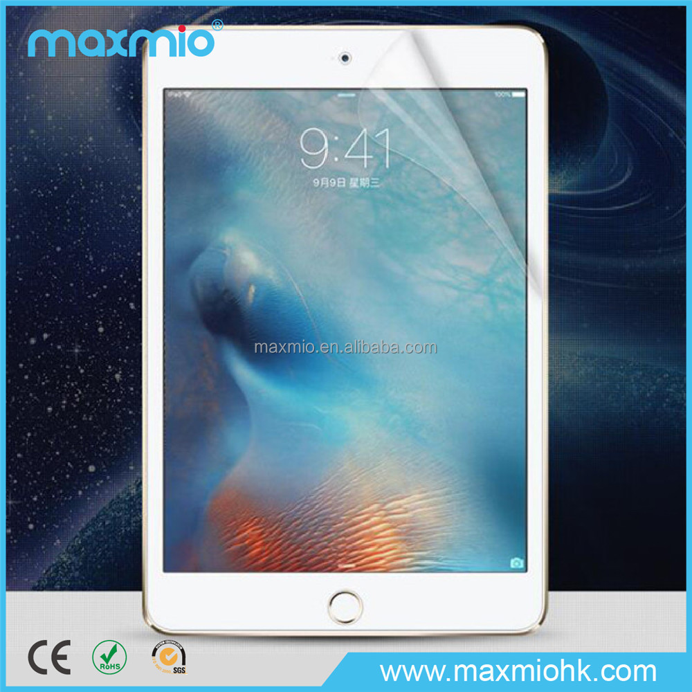 2015 new model, high clear transparent screen protector for ipad mini 4