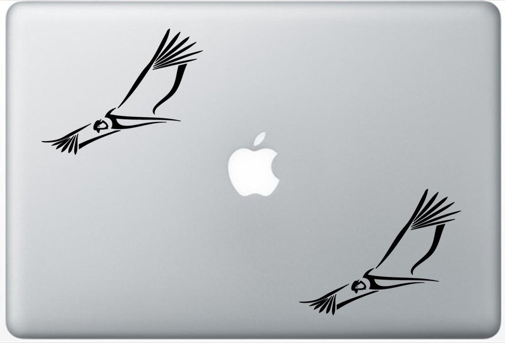 b69c7aca5 Get Quotations · Tribal Condor Bird South America FlashDecals1339 Set Of  Two (2x) , Decal , Sticker