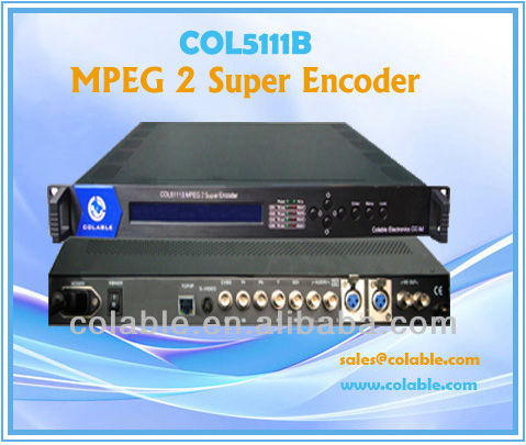 MPEG2 Super Encoder/low bit rate video compressing