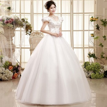 C29439a Korean Style Ladies Wedding Dress - Buy Western Style ...