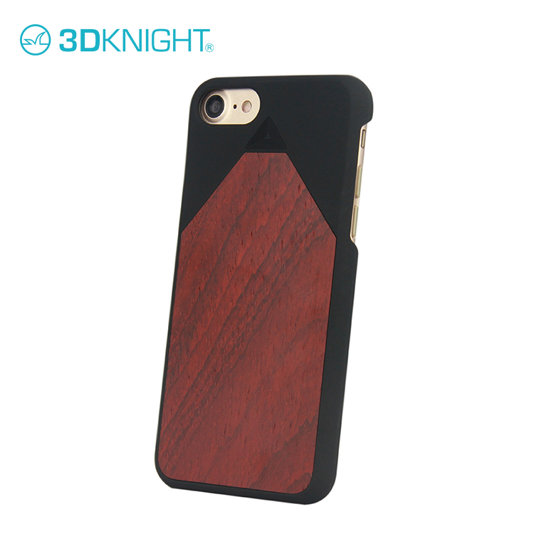 Beautiful spice mobile phone back cover blank wood case for iphone 8