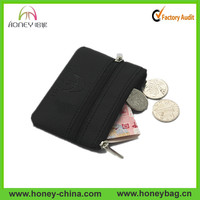PU leather small zip clutch wallet ,travel organizer wallet wholesale