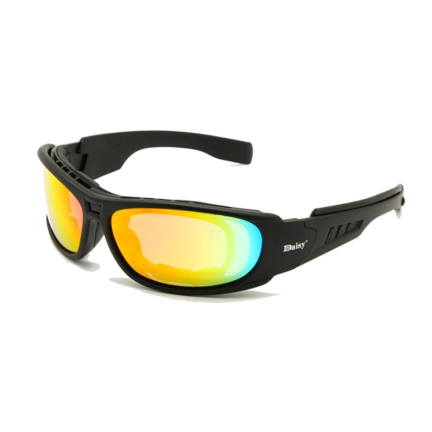 85d8ba9ed0 Get Quotations · Daisy C6 Polarized Ballstic Army Sunglasses Rx Insert  Military Tactical Goggles