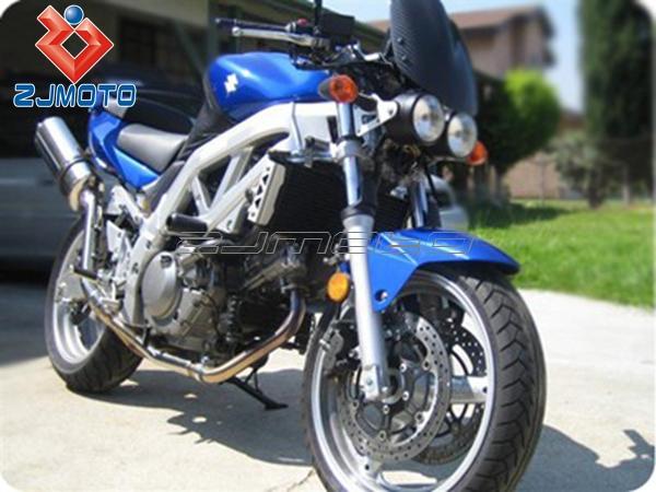 "universal twin round chrome dominator motorcycle 4"" headlight"