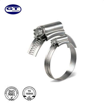 New Standard Iso9001 Manufacturer Top Selling Endless Hose Clamp