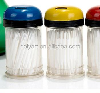 Hot High Quality White Plastic Toothpicks