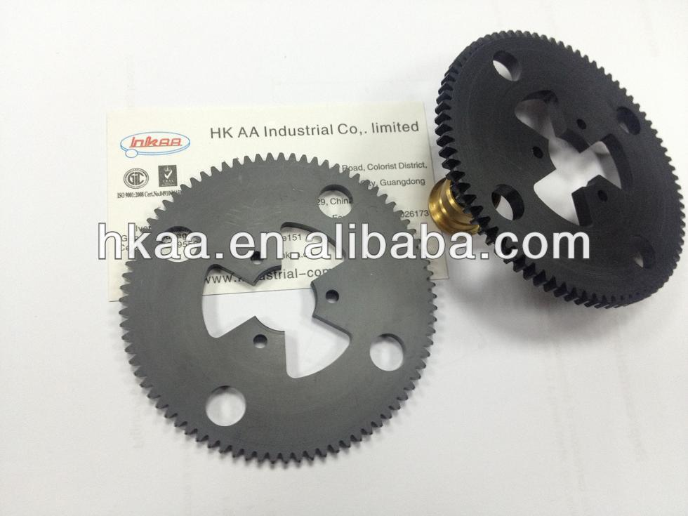 Chinese precision  machining and grinding steel cement mixer internal ring gear