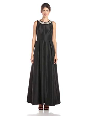 Get Quotations · Sangria Women s Pearl Necklace Detail Ball Gown 3c2675cde