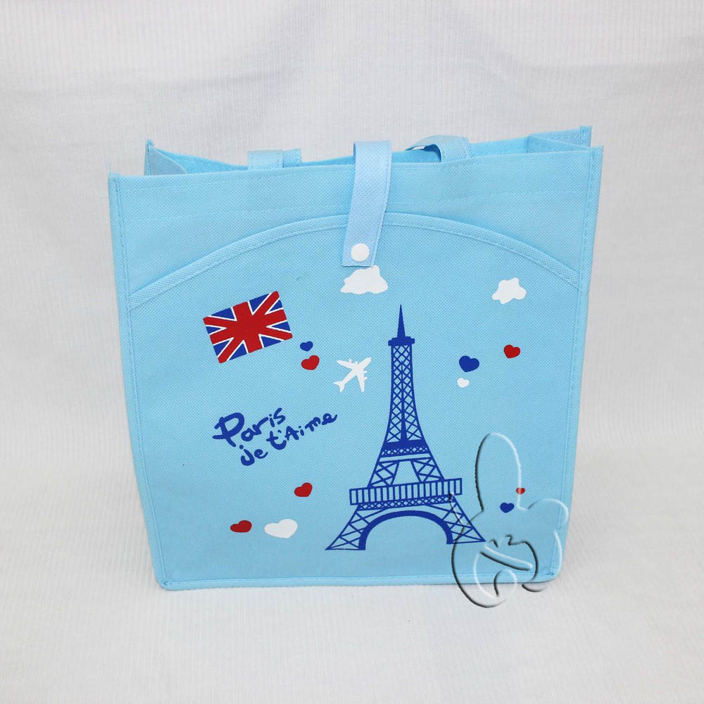 wholesale reusable convention bright colors non woven bags for promotions shopping favors
