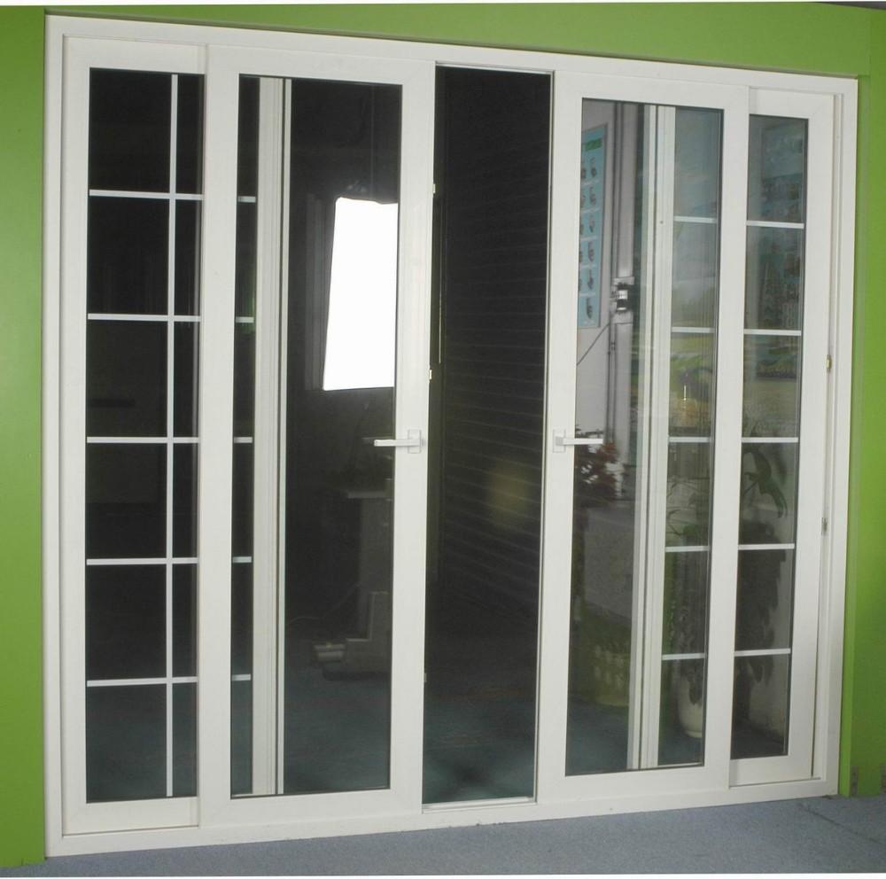 Top Grade Custom Made White Color Upvc 4 Panel Sliding Doors For Sale Buy Doors 4 Panel Doors