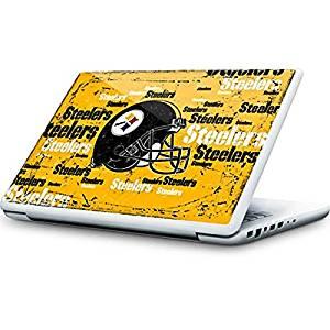 NFL Pittsburgh Steelers MacBook 13-inch Skin - Pittsburgh Steelers - Blast Vinyl Decal Skin For Your MacBook 13-inch